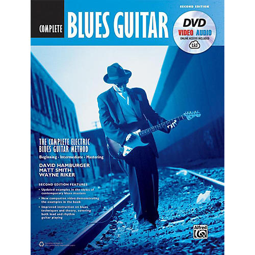 Alfred The Complete Blues Guitar Method: Complete Edition (Second Edition) - Book, DVD & Online Audio & Video
