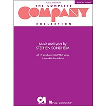 Hal Leonard The Complete Company Collection - Author's Edition Revised arranged for piano, vocal, and guitar (P/V/G)