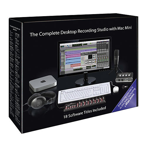 Apple The Complete Desktop Recording Studio With Mac Mini