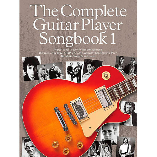 Music Sales The Complete Guitar Player - Songbook 1