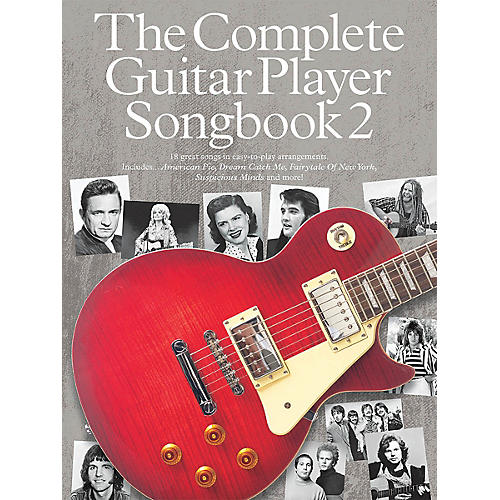 Music Sales The Complete Guitar Player - Songbook 2 Guitar Series Softcover