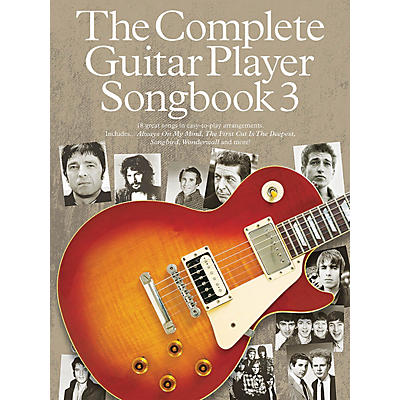 Music Sales The Complete Guitar Player - Songbook 3 Guitar Series Softcover