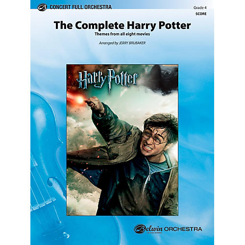 Alfred The Complete Harry Potter Concert Full Orchestra Grade 4 Set