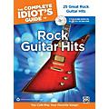 Alfred The Complete Idiot's Guide to Rock Guitar Hits Tab Book/ 2 CDs thumbnail