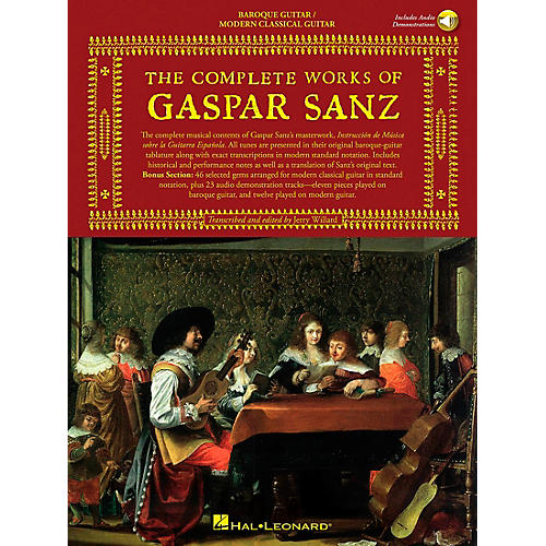 Music Sales The Complete Works of Gaspar Sanz - Volumes 1 & 2 Music Sales America Series Softcover with CD