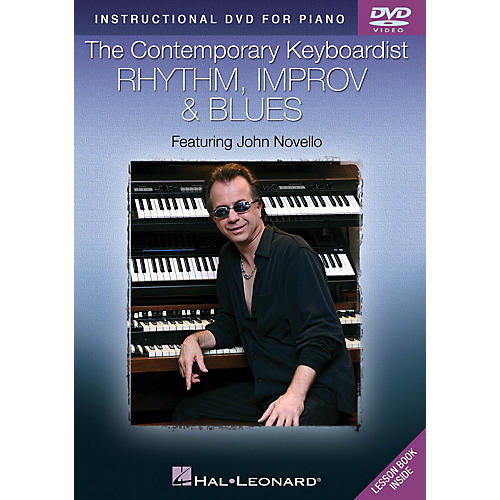 Hal Leonard The Contemporary Keyboardist - Rhythm, Improv & Blues DVD Series DVD Performed by John Novello