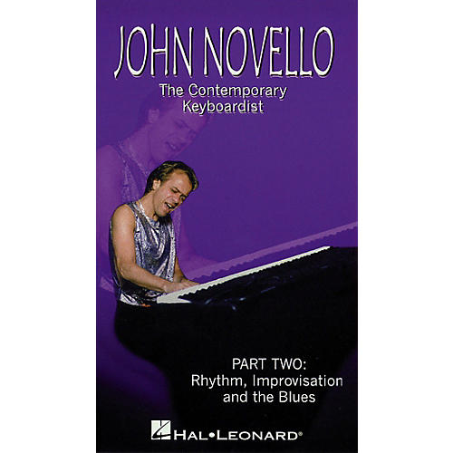 Hal Leonard The Contemporary Keyboardist - Rhythm, Improv, and Blues Videos Series Video Performed by John Novello