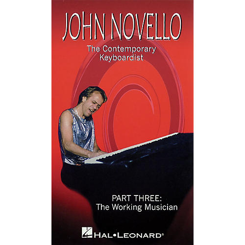 Hal Leonard The Contemporary Keyboardist - The Working Musician Videos Series Video Performed by John Novello