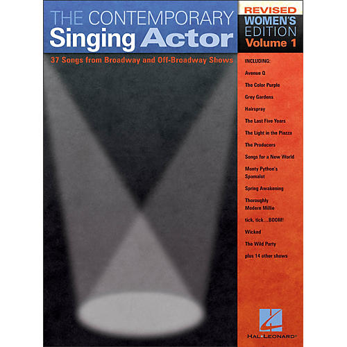 Hal Leonard The Contemporary Singing Actor - Women's Edition Volume 1
