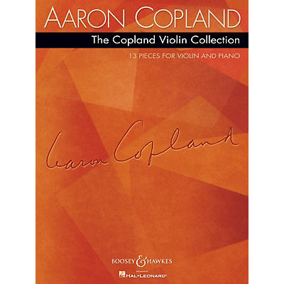Boosey and Hawkes The Copland Violin Collection Boosey & Hawkes Chamber Music Series Softcover