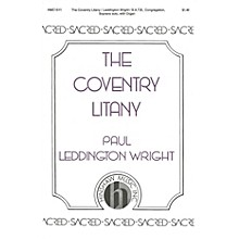 Hinshaw Music The Coventry Litany SATB composed by Paul Leddington Wright