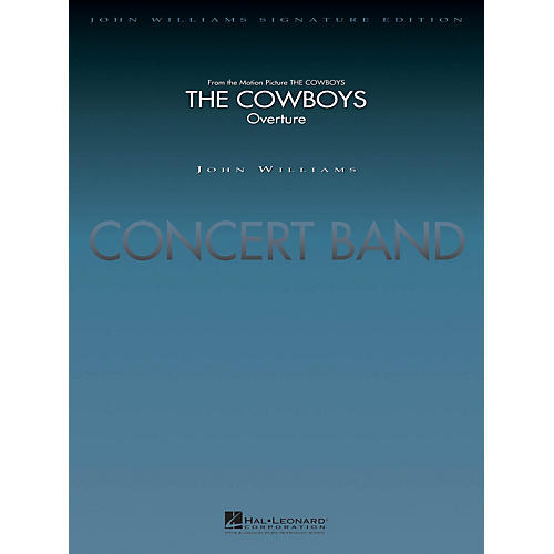 Hal Leonard The Cowboys (Deluxe Score) Concert Band Level 5 Arranged by Jay Bocook