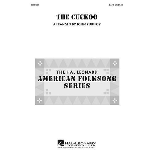 Hal Leonard The Cuckoo SATB arranged by John Purifoy