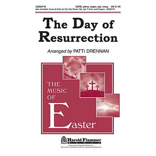 Shawnee Press The Day of Resurrection SATB arranged by Patti Drennan