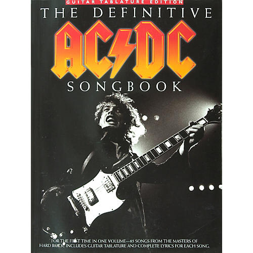 Music Sales The Definitive AC/DC Guitar Tab Songbook