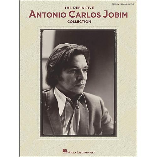 Hal Leonard The Definitive Antonio Carlos Jobim Collection arranged for piano, vocal, and guitar (P/V/G)