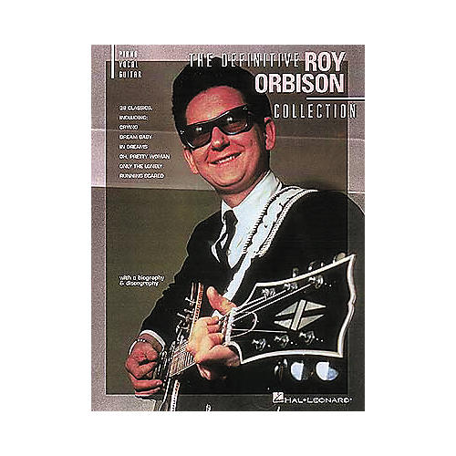 Hal Leonard The Definitive Roy Orbison Collection Songbook