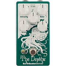 Open Box EarthQuaker Devices The Depths V2 Optical Vibe Effects Pedal