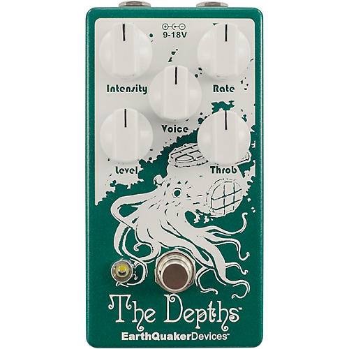EarthQuaker Devices The Depths V2 Optical Vibe Effects Pedal