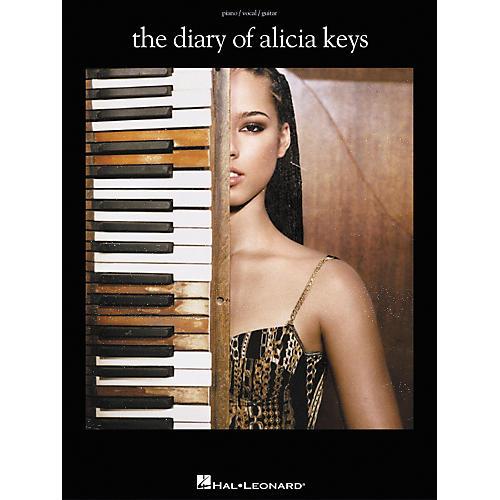 Hal Leonard The Diary of Alicia Keys Piano, Vocal, Guitar Songbook