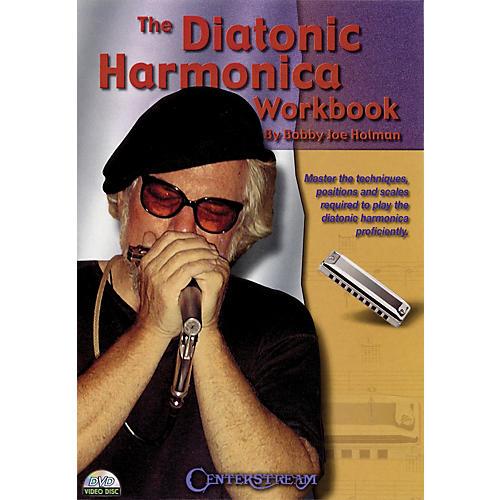 Centerstream Publishing The Diatonic Harmonica Workbook Harmonica Series DVD Written by Bobby Joe Holman