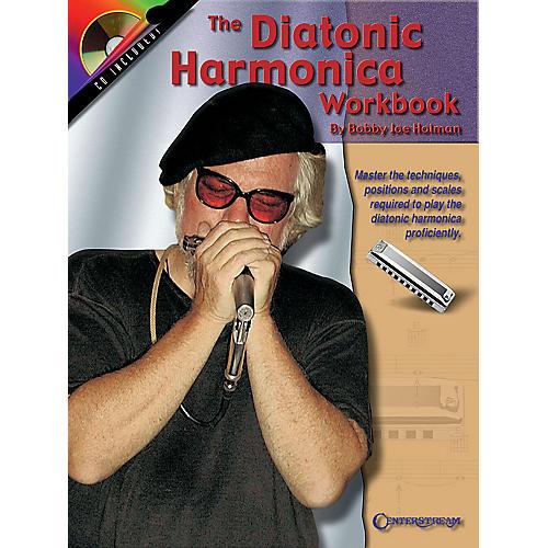 Centerstream Publishing The Diatonic Harmonica Workbook Harmonica Series Softcover with CD