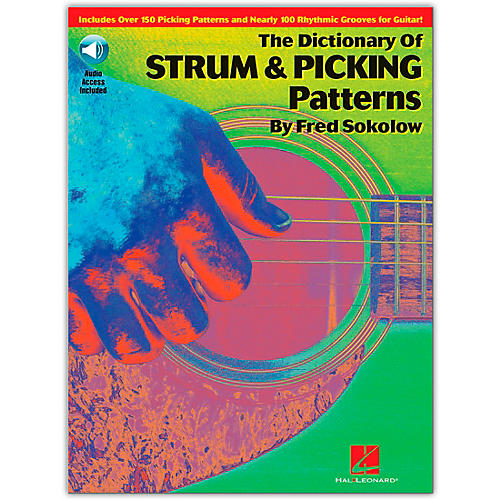 Hal Leonard The Dictionary of Strum and Picking Patterns (Book/Online Audio)