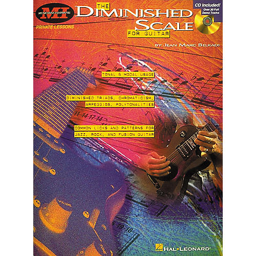 Musicians Institute The Diminished Scale for Guitar (Book/CD)