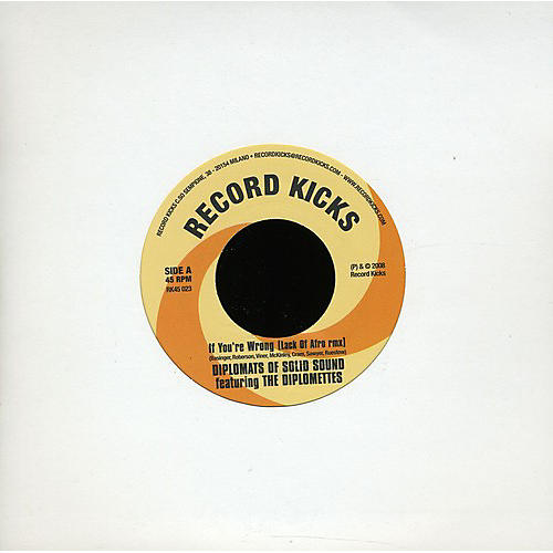 Alliance The Diplomats of Solid Sound - If You're Wrong (Lack of Afro Remix)