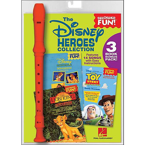 Hal Leonard The Disney Heroes Collection - Recorder Fun! 3-Book Bonus Pack