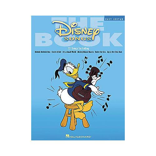 Hal Leonard The Disney Songs Easy Guitar Tab Songbook