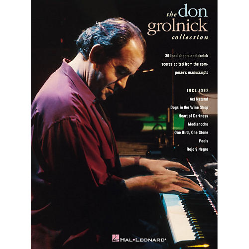 Hal Leonard The Don Grolnick Collection Transcribed Series Performed by Don Grolnick