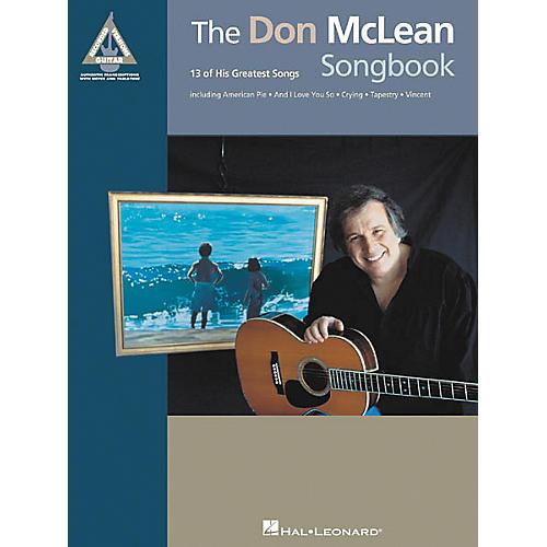 Hal Leonard The Don McLean Guitar Tab (Songbook)