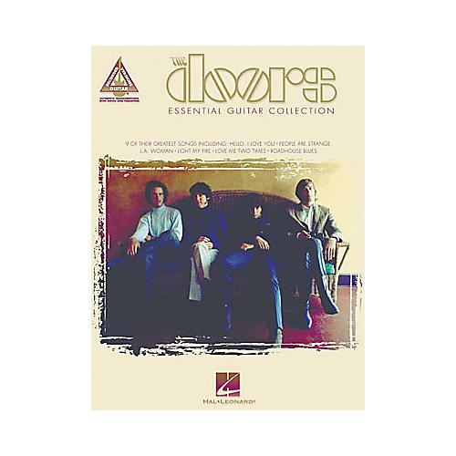 Hal Leonard The Doors Essential Guitar Tab Book Collection