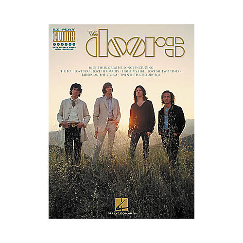 Hal Leonard The Doors Guitar Tab Book