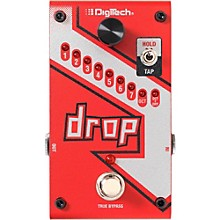 Open BoxDigiTech The Drop Polyphonic Drop Tune Pitch-Shifter Guitar Effects Pedal