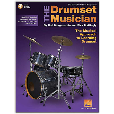 Hal Leonard The Drumset Musician - The Musical Approach to Learning Drumset 2nd Edition Book/Online Audio