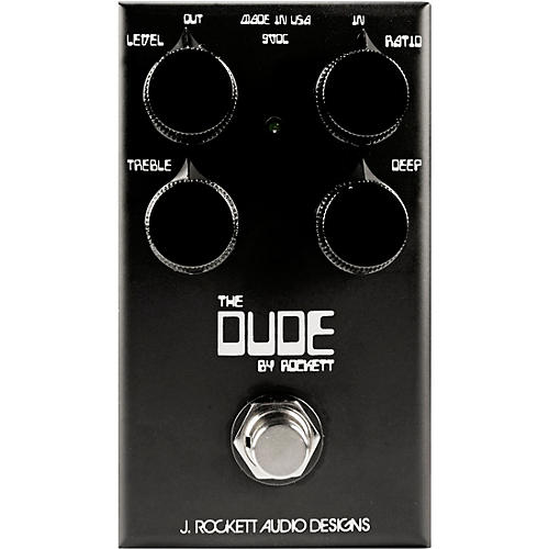 Rockett Pedals The Dude OD V2 Black