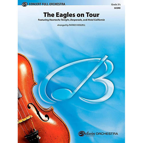 Alfred The Eagles on Tour Full Orchestra Level 3.5 Set