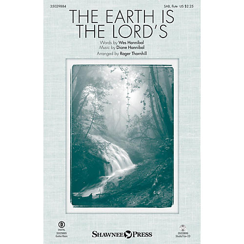 Shawnee Press The Earth Is the Lord's SAB W/ FLUTE arranged by Roger Thornhill