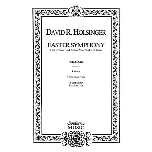 Hal Leonard The Easter Symphony (Band/Voice/choir And Band) Concert Band Level 5 Composed by Holsinger, David