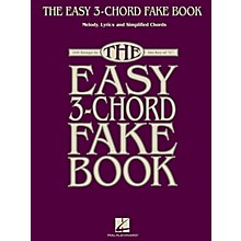 Hal Leonard The Easy 3-Chord Fake Book - Melody, Lyrics & Simplified Chords In Key Of C