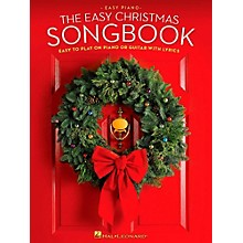 Hal Leonard The Easy Christmas Songbook - Easy to Play on Piano or Guitar with Lyrics