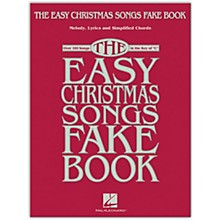 Hal Leonard The Easy Christmas Songs Fake Book (100 Songs in the Key of C) Easy Fake Book Songbook