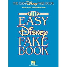 Hal Leonard The Easy Disney Fake Book - 100 Songs In The Key Of C