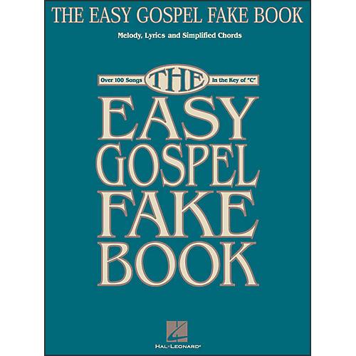 Hal Leonard The Easy Gospel Fake Book