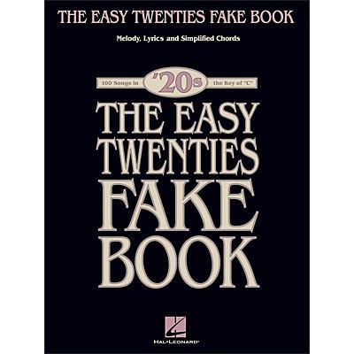 Hal Leonard The Easy Twenties Fake Book - 100 Songs In The Key Of C