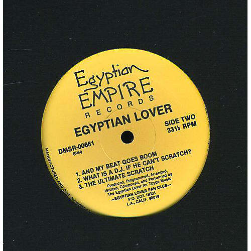 Alliance The Egyptian Lover - Egypt Egypt / What Is a DJ / Ultimate Scratch