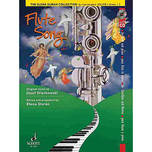 Schott The Elena Durán Collection (Volume I: Flute Songs (Grades 1-2)) Schott Series