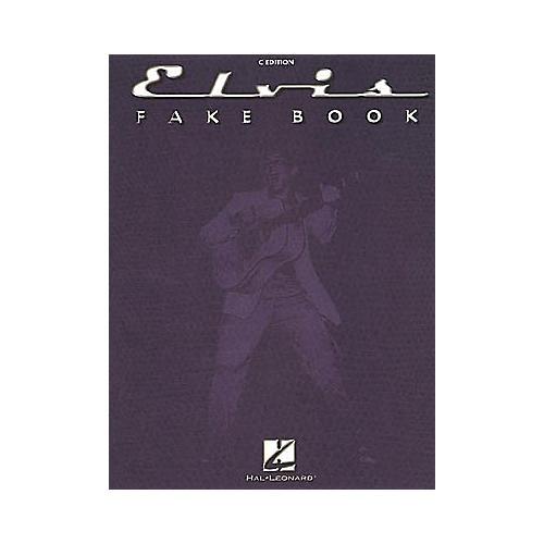 Hal Leonard The Elvis (Fake Book)